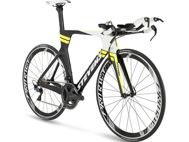 Stevens Super Trofeo Triathlonrad - XS carbon/polar white