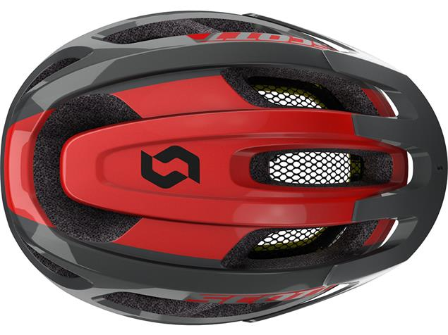 Scott Supra 2020 Helm - Onesize grey/red