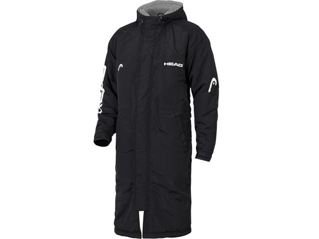 Head Swimming Team Parka Wärmemantel - S black
