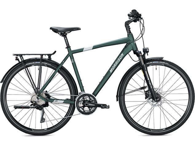 Morrison T 6.0 Herren Trekkingrad - 60 dark green/silver