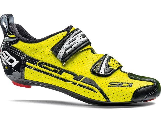 SIDI T-4 Air Carbon Triathlon Schuh - 39 black/yellow