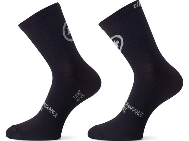 Assos T.tiburuSocks_evo8 Doppelpack - 0 blackseries