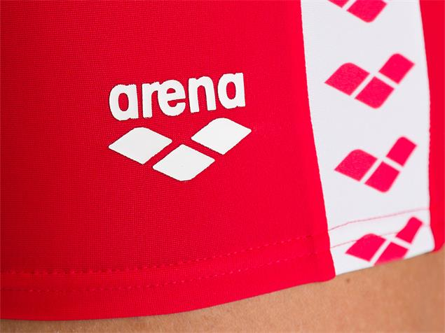 Arena Team Fit Short Badehose - 5 red