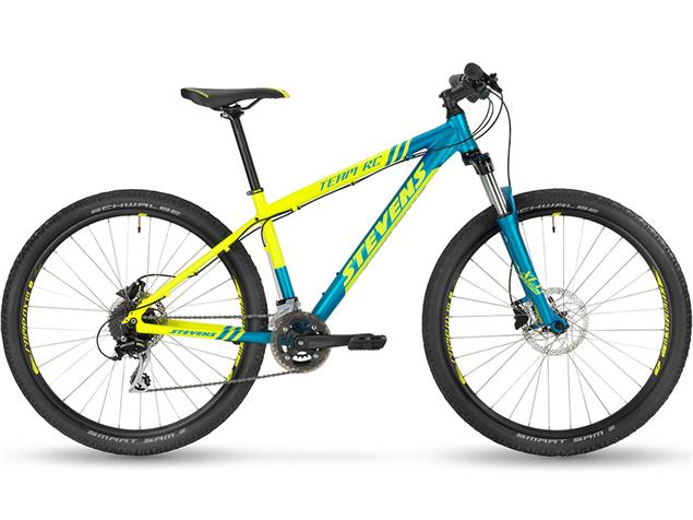 "Stevens Team RC 27.5"" Mountainbike - 16"" neon yellow"