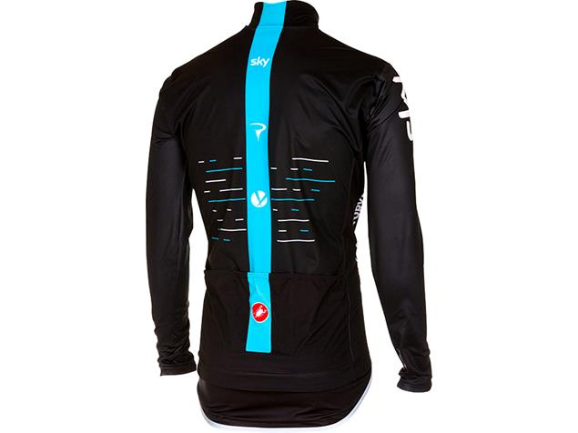 Castelli Team Sky Profit Light Regenjacke - M black