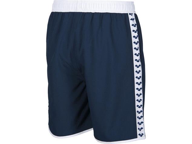Arena Team Stripe Bermuda - S navy/white/navy