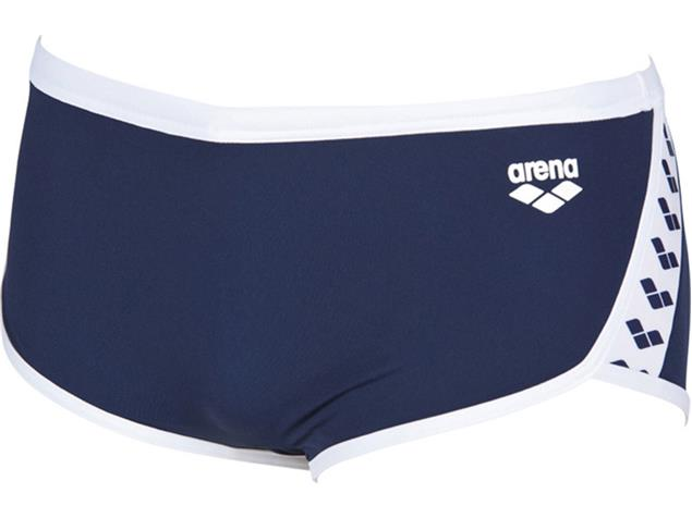 Arena Team Stripe Low Waist Badehose - 7 navy/white