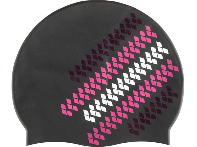 Arena Team Stripe Silikon Badekappe multi black