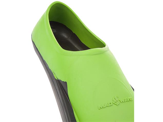 Mad Wave Training II Rubber Schwimmflossen green - 44-46