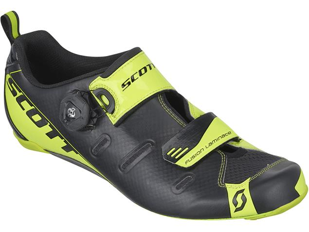 Scott Tri Carbon Triathlon Schuh - 45 black/neon yellow