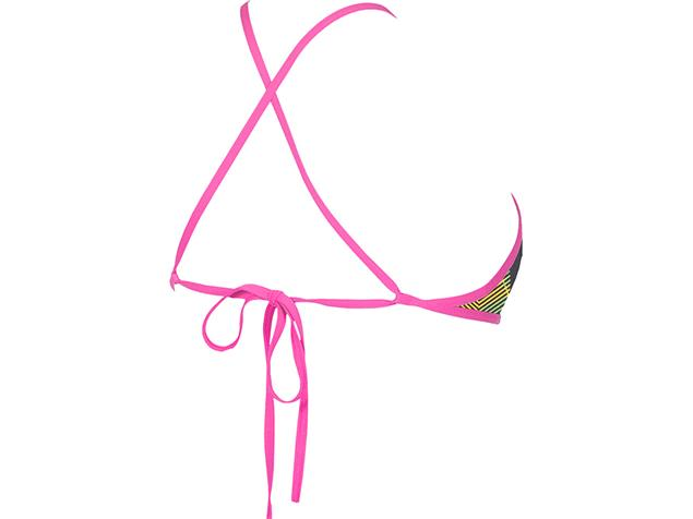 Arena Triangle Feel Schwimmbikini Oberteil Rule Breaker - L multicolor/fresia rose