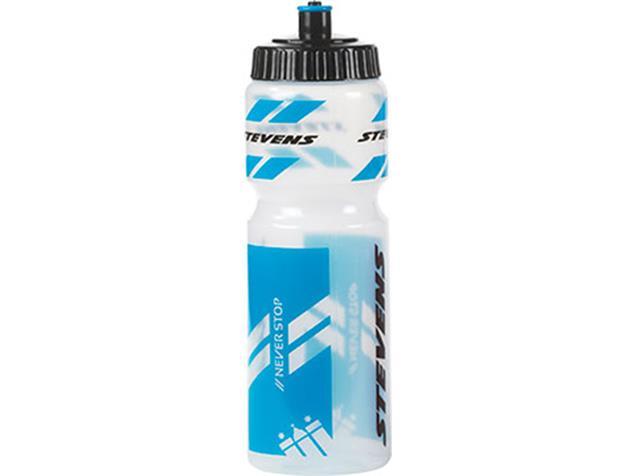 Stevens Trinkflasche 750 ml - transparent/blau