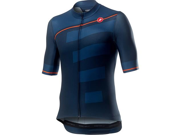 Castelli Trofeo Trikot kurzarm - M dark infinity blue