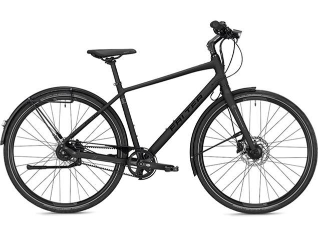 Falter U 8.0 Herren Cityrad - 48/M matt schwarz