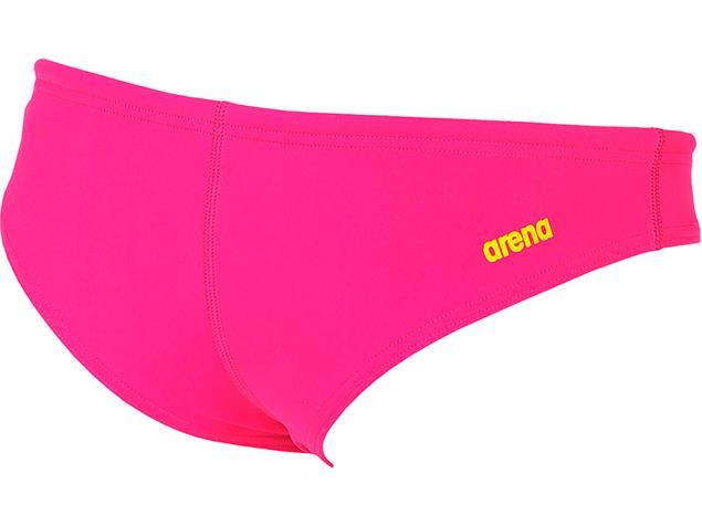 Arena Unique Brief Schwimmbikini Hose Rule Breaker - XXS fresia rose/yellow star