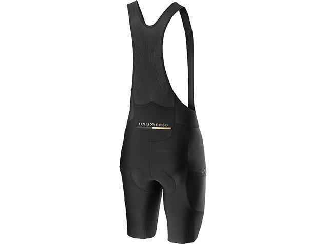Castelli Unlimited Bibshorts Trägerhose kurz - L black