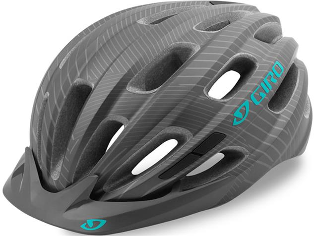Giro Vasona 2020 Helm - Unisize matte titanium