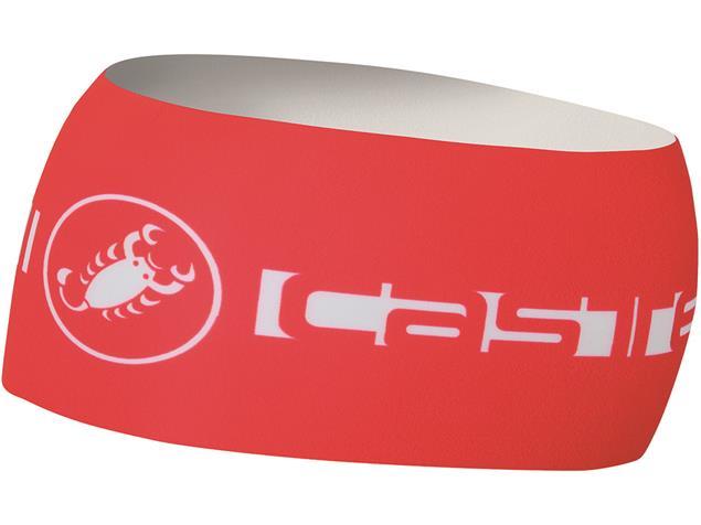 Castelli Viva Thermo Headband Stirnband - Unisize red