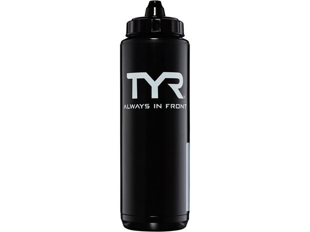 TYR Water Bottle Trinkflasche - black