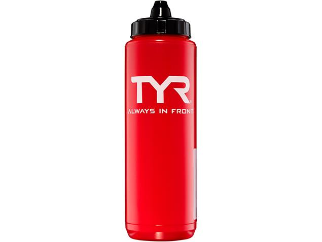 TYR Water Bottle Trinkflasche - red