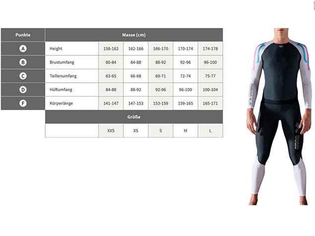 Arena Carbon Compression Women Long Seleeve - XXS deep grey/white