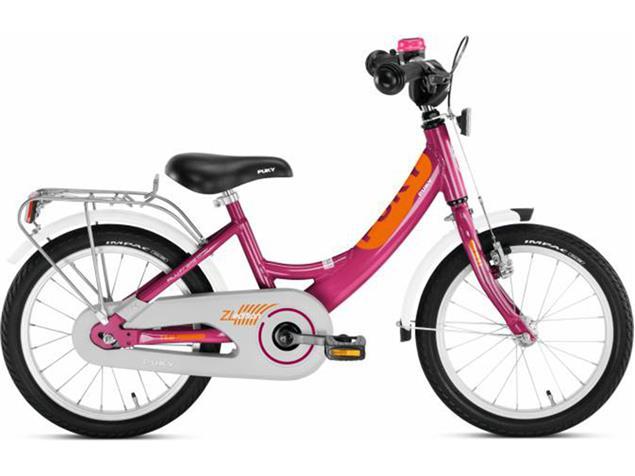 "Puky ZL 16 Alu Edition Kinderrad - 16"" berry"