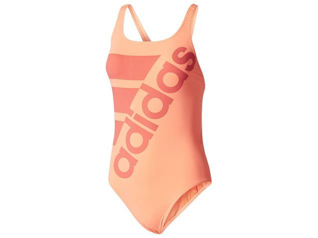 Adidas Clubline Plus Badeanzug coral X-Back, Infinitex+ - 38 coral/pantone