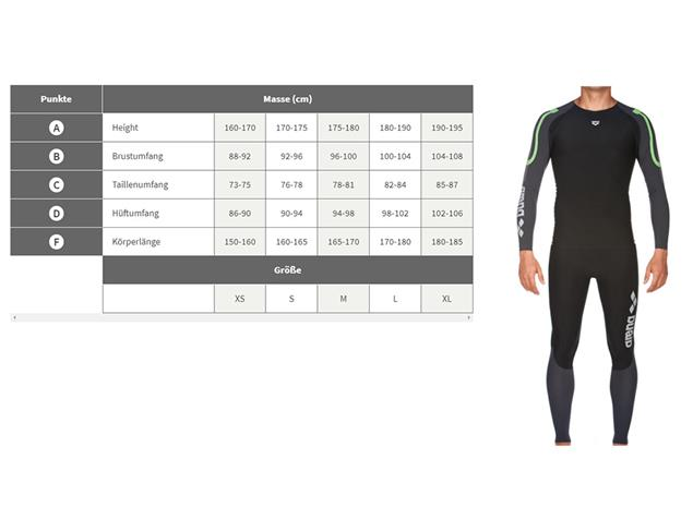 Arena Carbon Compression Men Long Sleeve - L black/deep grey