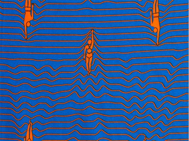 Funky Trunks Ocean Swim Toddler Badehose Printed Trunks - 116 (5)
