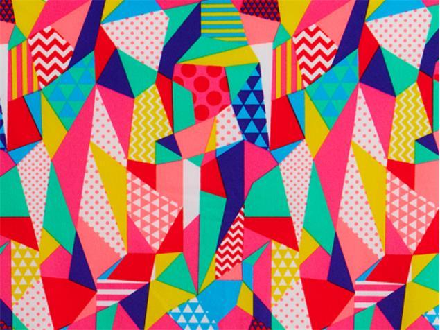 Funkita Pastel Patch Girls Schwimmbikini Criss Cross - 164 (12)