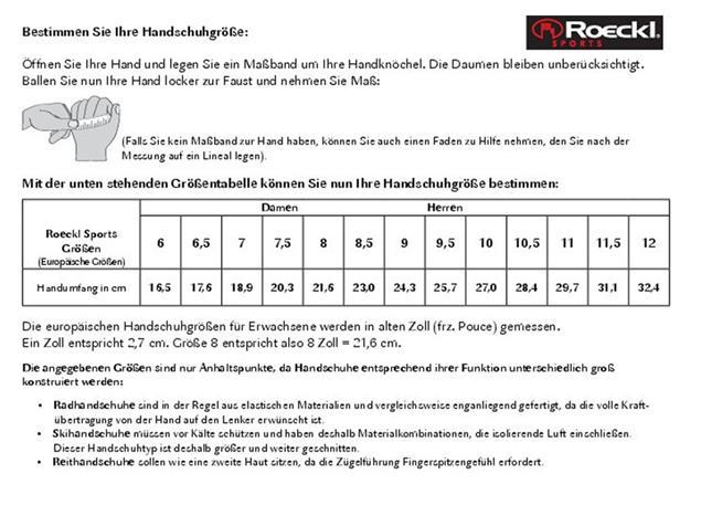 Roeckl Reinbek 3103-789 Winterhandschuh - 7 schwarz