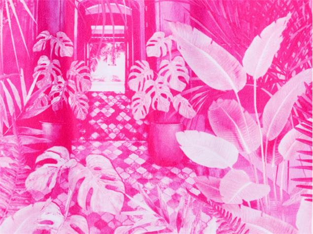 Funkita Pink Bliss Ladies Badeanzug Single Strap - 38 (12)