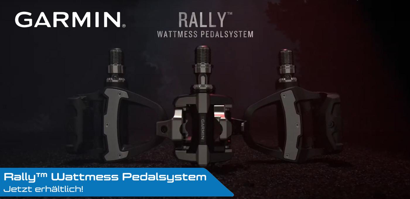 Garmin Rally Wattmesspedalsystem
