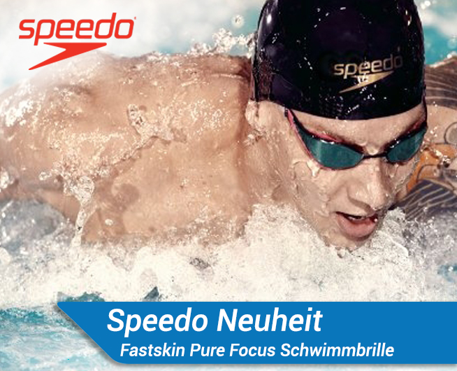 Speedo Fastskin Pure Focus Schwimmbrille