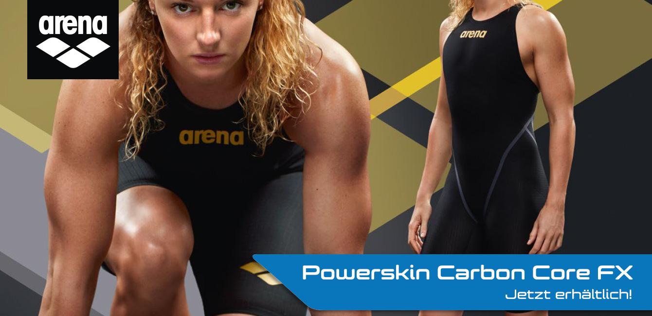 Der neue Arena Powerskin Carbon Core FX