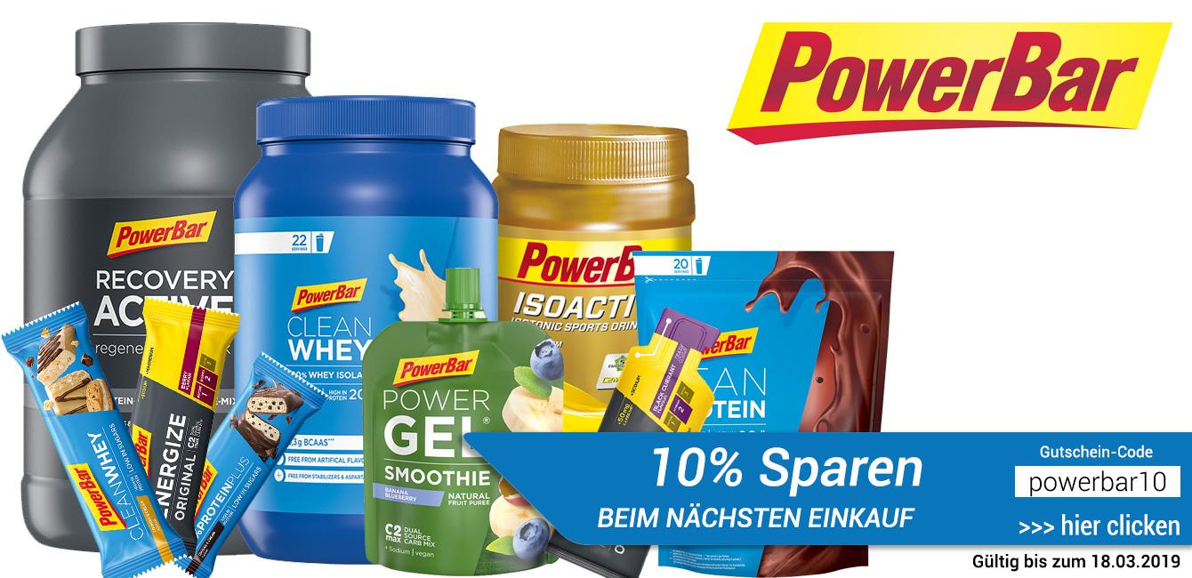 PowerBar 10% Rabatt